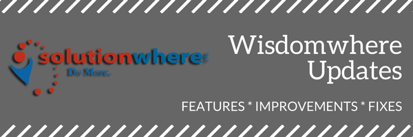 Wisdomwhere Updates for June 21, 2018